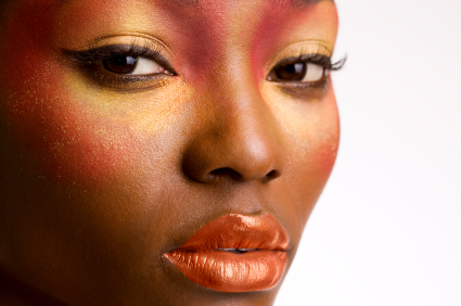 Thrive-photo_black-woman-orange-make-up